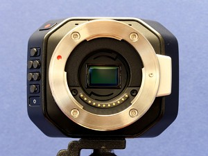 VAF + IR Filter for Blackmagic MFT Cameras